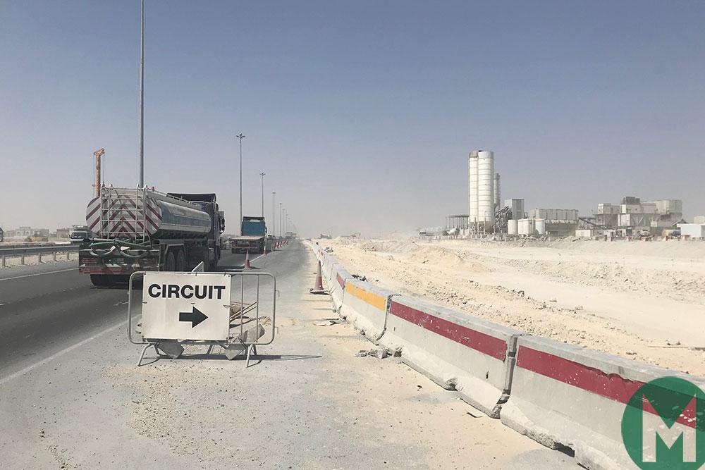 Qatar MotoGP circuit entrance