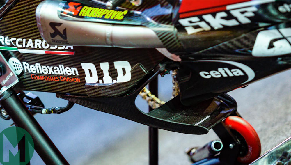 Ducati swingarm motogp
