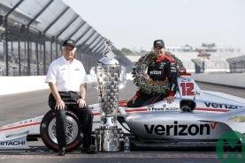 """Watch Will Power on Penske's """"perfect race"""""""