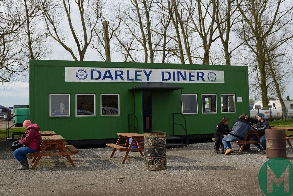 The Darley Moor paddock diner