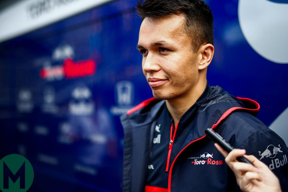 Alex Albon F1 Toro rosso