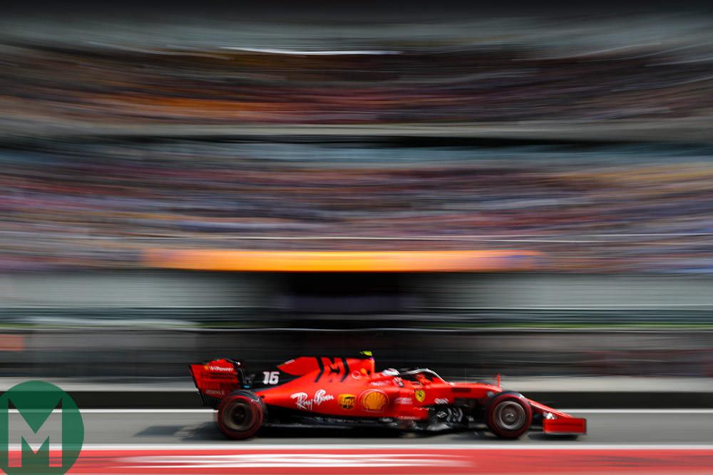 Ferrari Leclerc China 2019