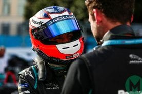 Evans takes Jaguar's first Formula E win in Rome ePrix