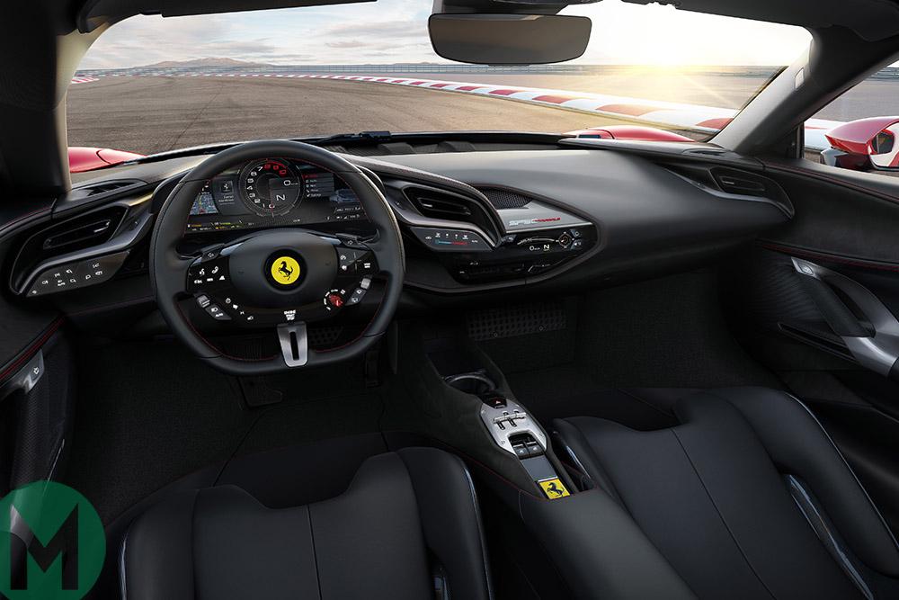 Ferrari SF90 interior