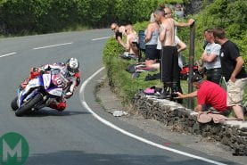 Take a record-breaking IOM TT ride with Peter Hickman