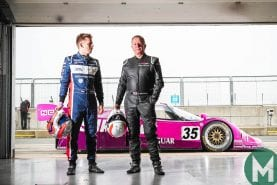 Watch: Martin Brundle back at the wheel of Jaguar XJR-12
