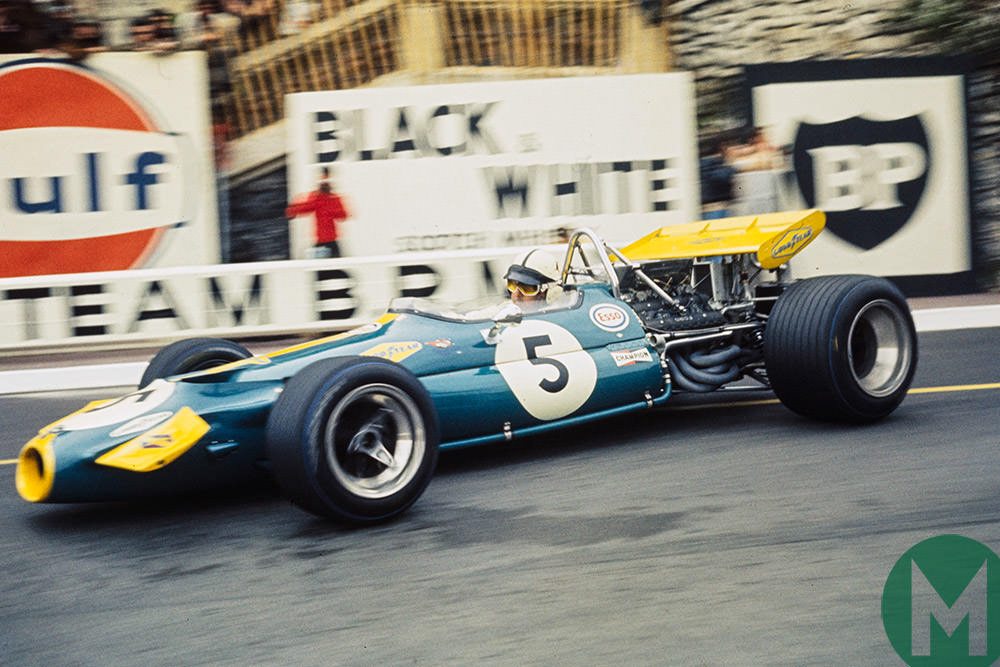 Jack Brabham, 1970 Monaco Grand PRix