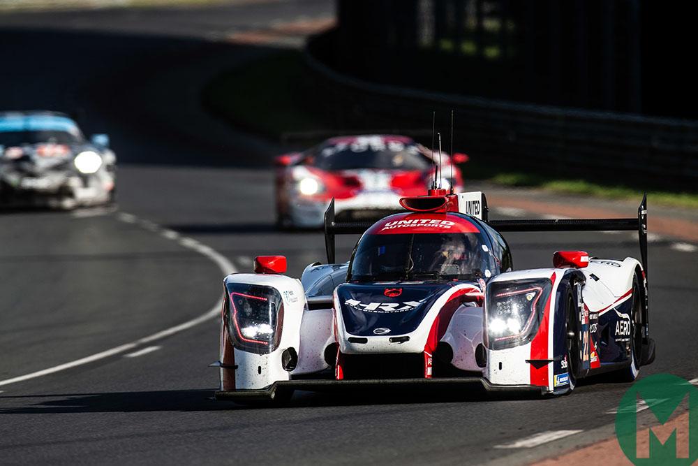 Uniterd Autosports at Le Mans 2019