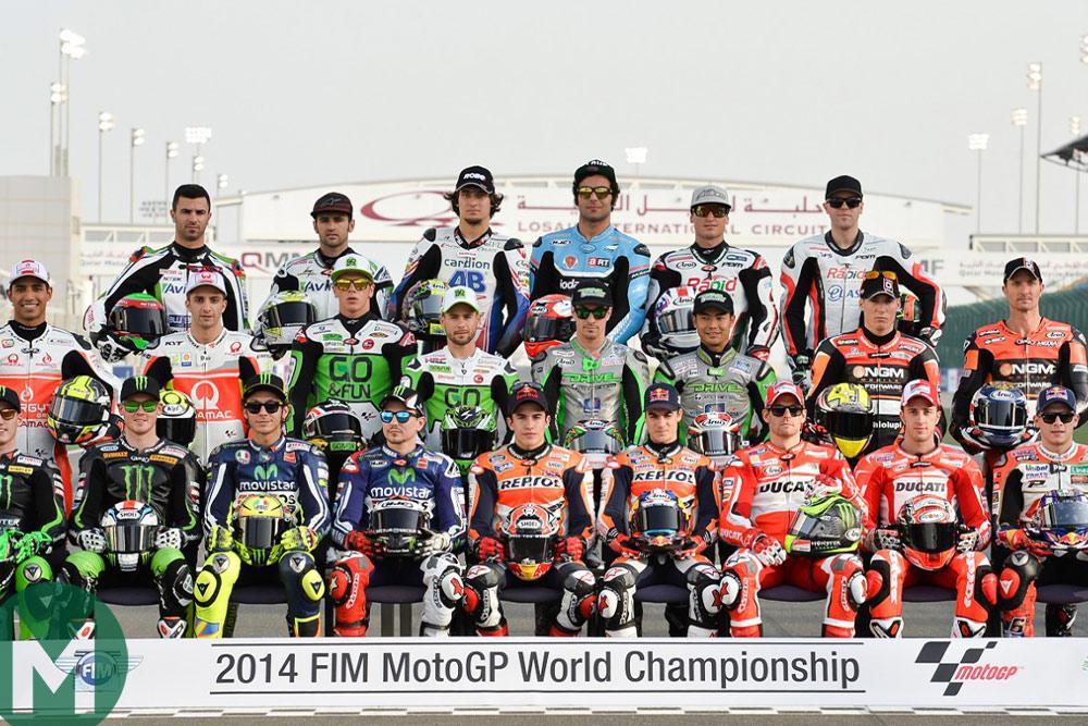 2014 MotoGP group shot