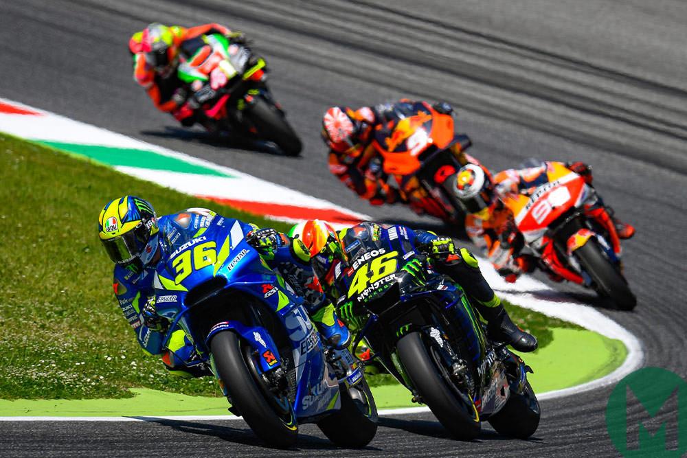 Rossi Mir 2019 MotoGP Italy