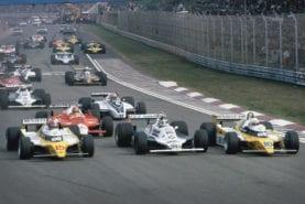 Five classic Formula 1 ground effect cars