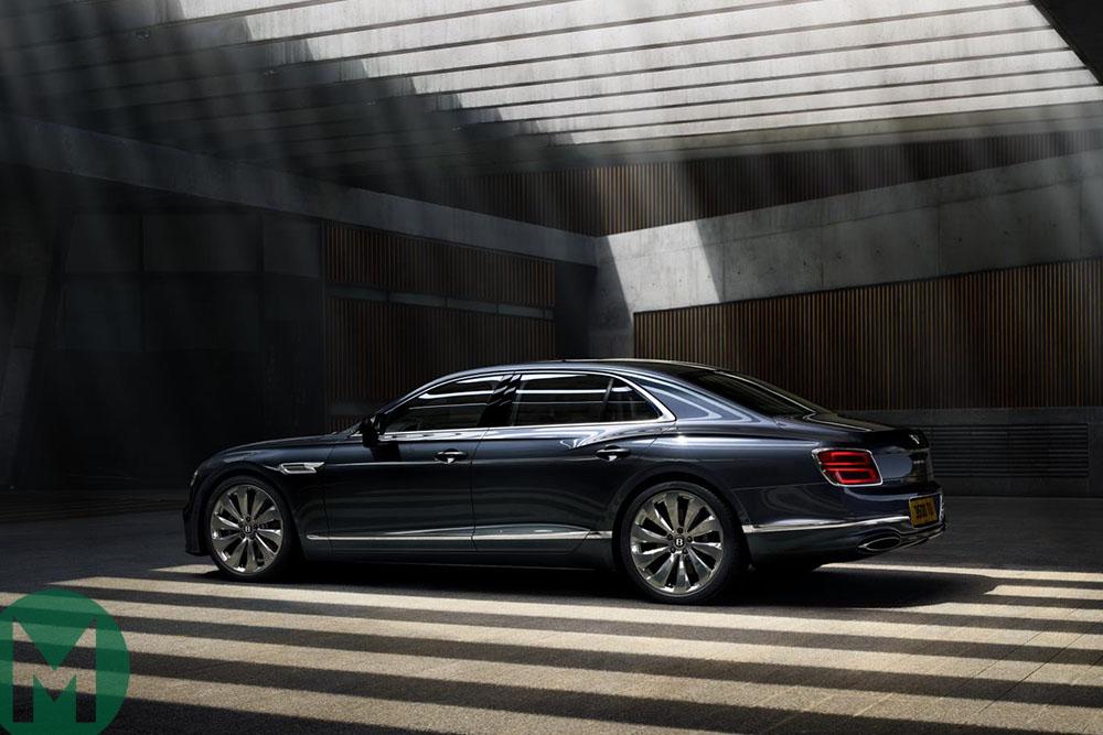 The Flying Spur will debut during Monterey car week Bentley has confirmed