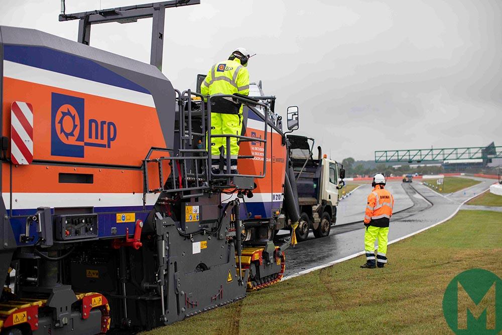 2019 Silverstone resurfacing