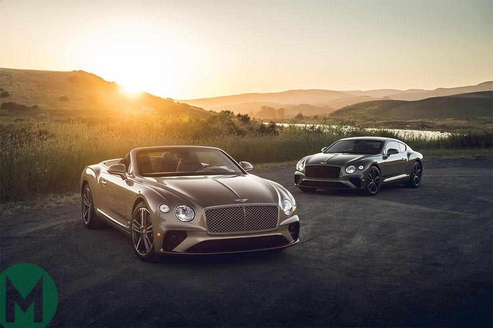 Bentley is set for multiple celebration evenings in Monterey car week