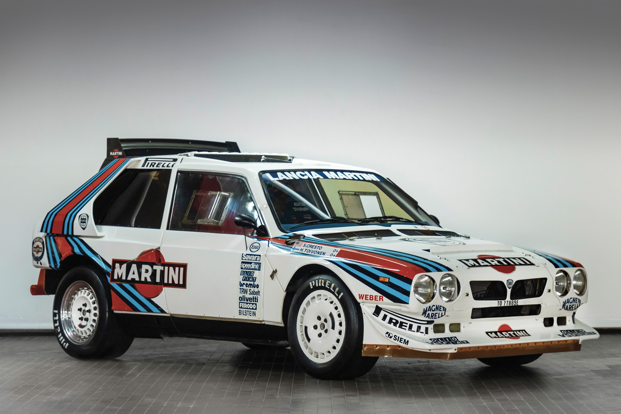1985 RAC Rally-winning Lancia Delta S4 due to be auctioned