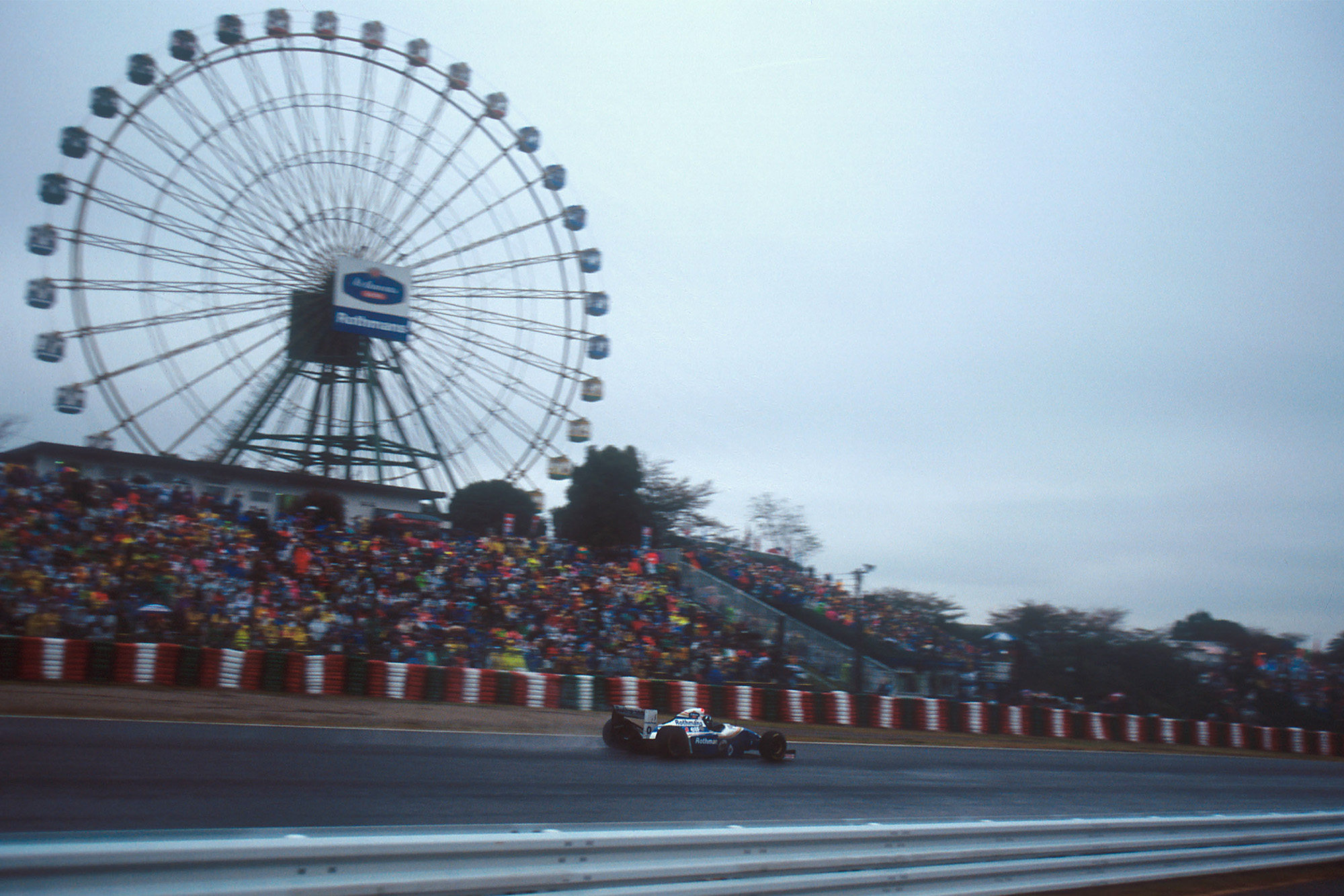 Damon Hill during the 1994 Japanese Grand Prix