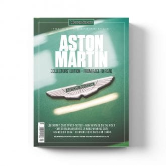 Product image for Aston Martin: From Race to Road   Motor Sport Magazine   Collector's Edition Bookazine
