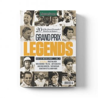 Product image for Grand Prix Legends 2   Motor Sport Magazine   Collector's Edition Bookazine