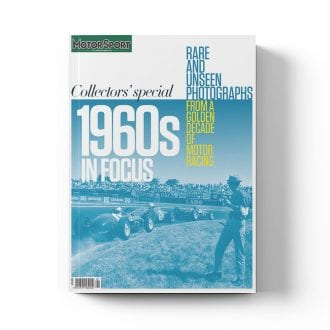 Product image for 1960s in Focus   Motor Sport Magazine   Collector's Edition Bookazine