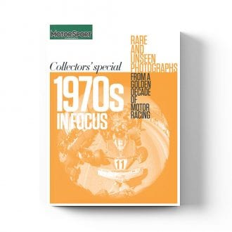 Product image for 1970s in Focus   Motor Sport Magazine   Collector's Edition Bookazine