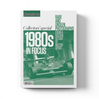 Product image for 1980s in Focus   Motor Sport Magazine   Collector's Edition Bookazine
