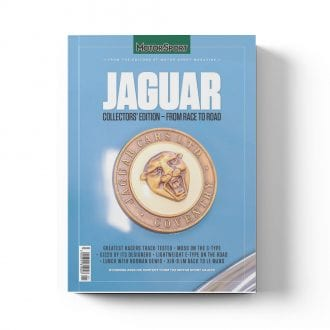 Product image for Jaguar: From Race to Road   Motor Sport Magazine   Collector's Edition Bookazine