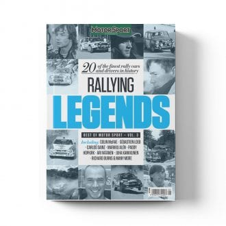 Product image for Rallying Legends   Motor Sport Magazine   Bookazine