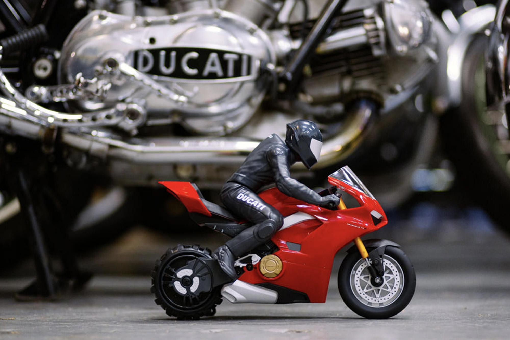 Ducati's GP19 and GP20 during post-season testing in Valencia
