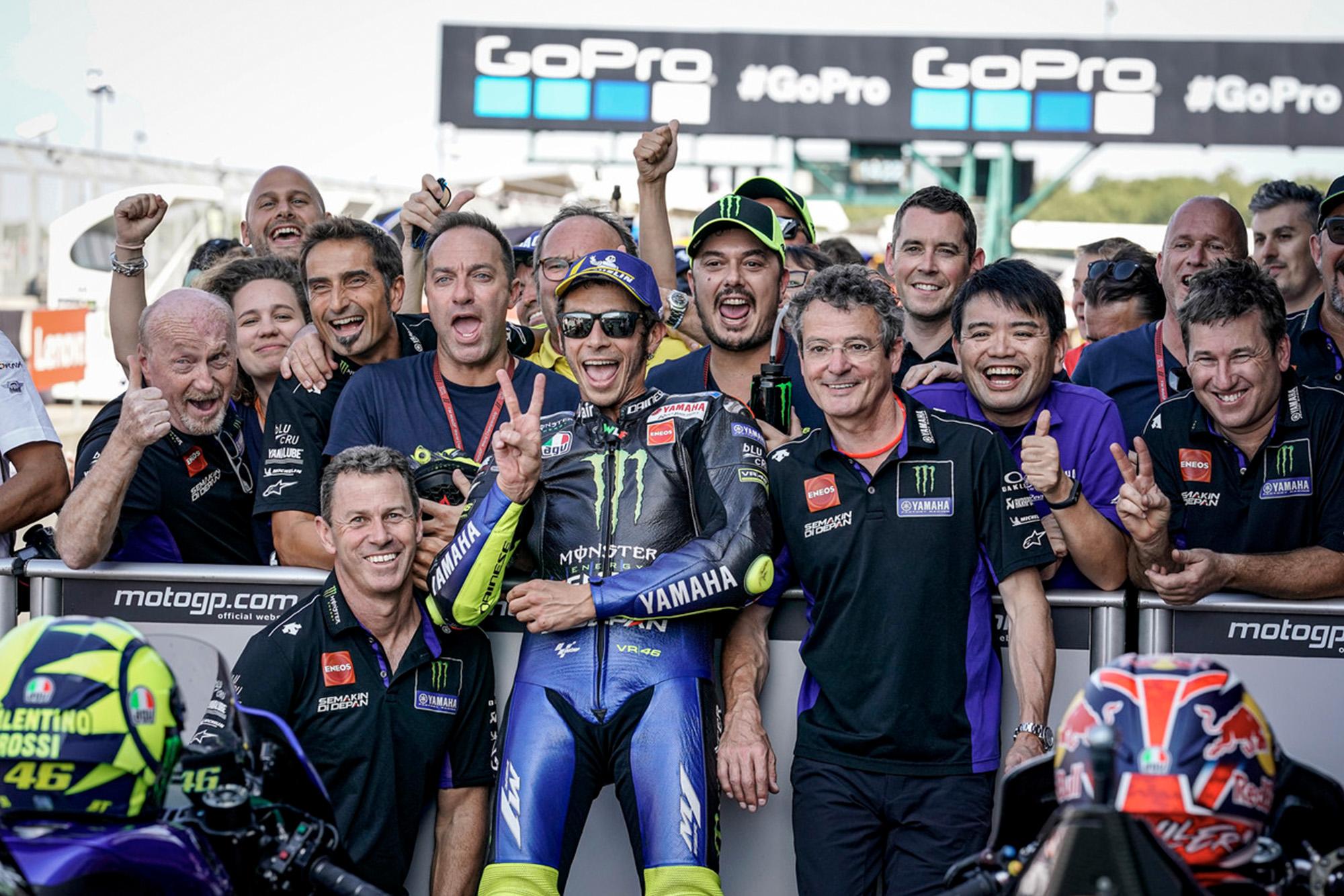 Rossi last front-row start Silverstone