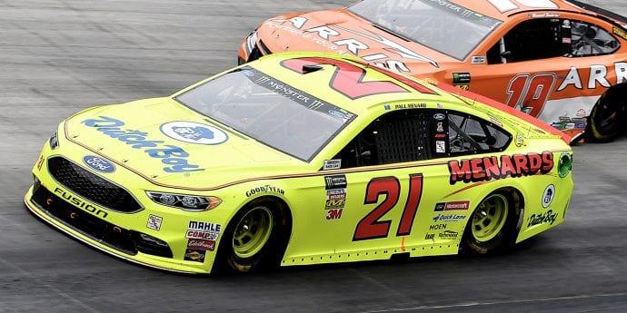 NASCAR-section