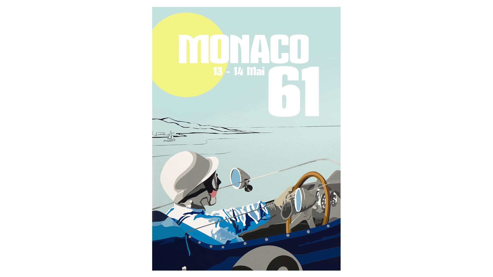 Monaco 61 poster