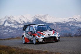 Pre-rally testing puts Evans in contention for Rally Monte Carlo win