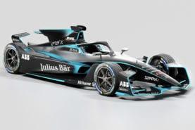 Formula E unveils new Gen 2 EVO car for 2020/21 season