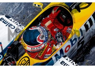 Product image for Nigel Mansell - Williams - 1987   David Johnson   Limited Edition print