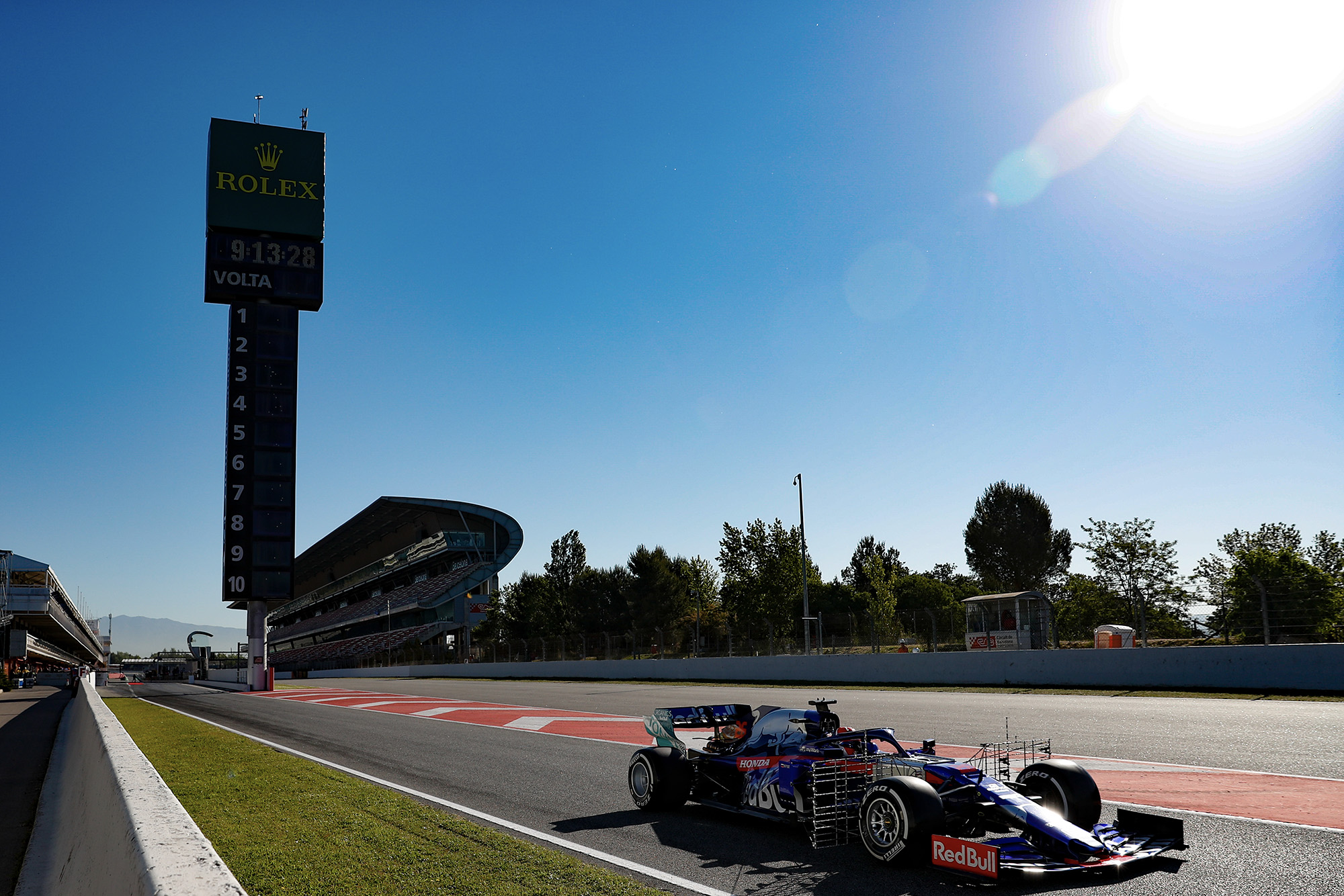 Toro Rosso pre-season testing