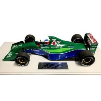 Product image for Michael Schumacher signed   Jordan 191   1:18 model