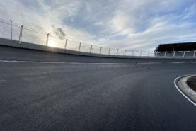 Zandvoort's 'corkscrew' banking complete for Dutch GP