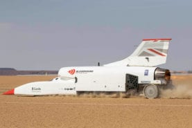 Funding gap puts Bloodhound LSR project in jeopardy