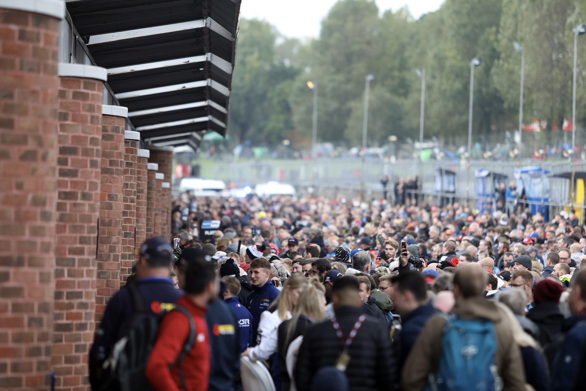 BTCC crowd at Brands Hatch in 2019