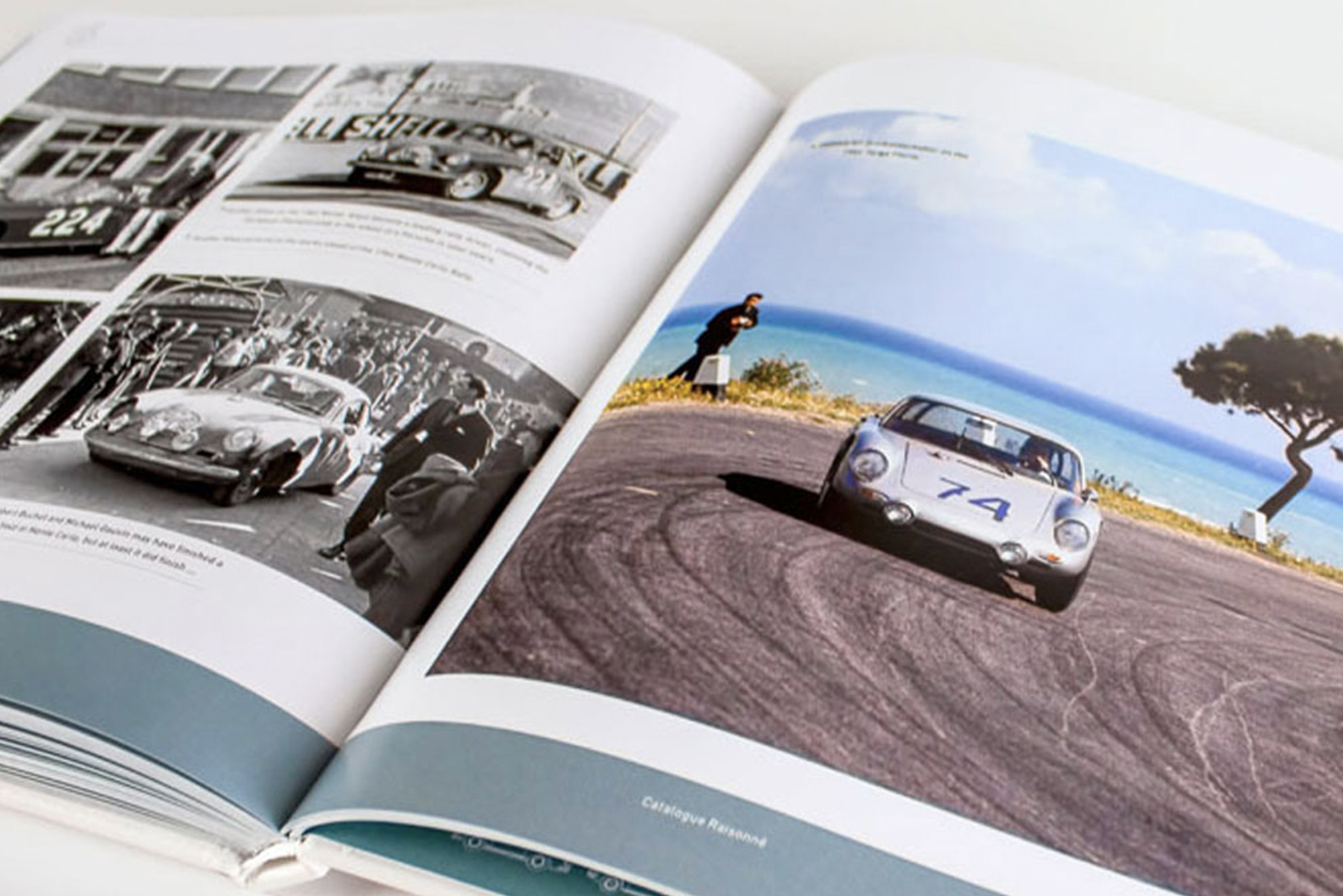 Porsche 356 header