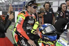 "Andrea Iannone's 18 month ban ""absurd"" says Aprilia"