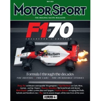 Product image for May 2020   F1 at 70   Motor Sport Magazine