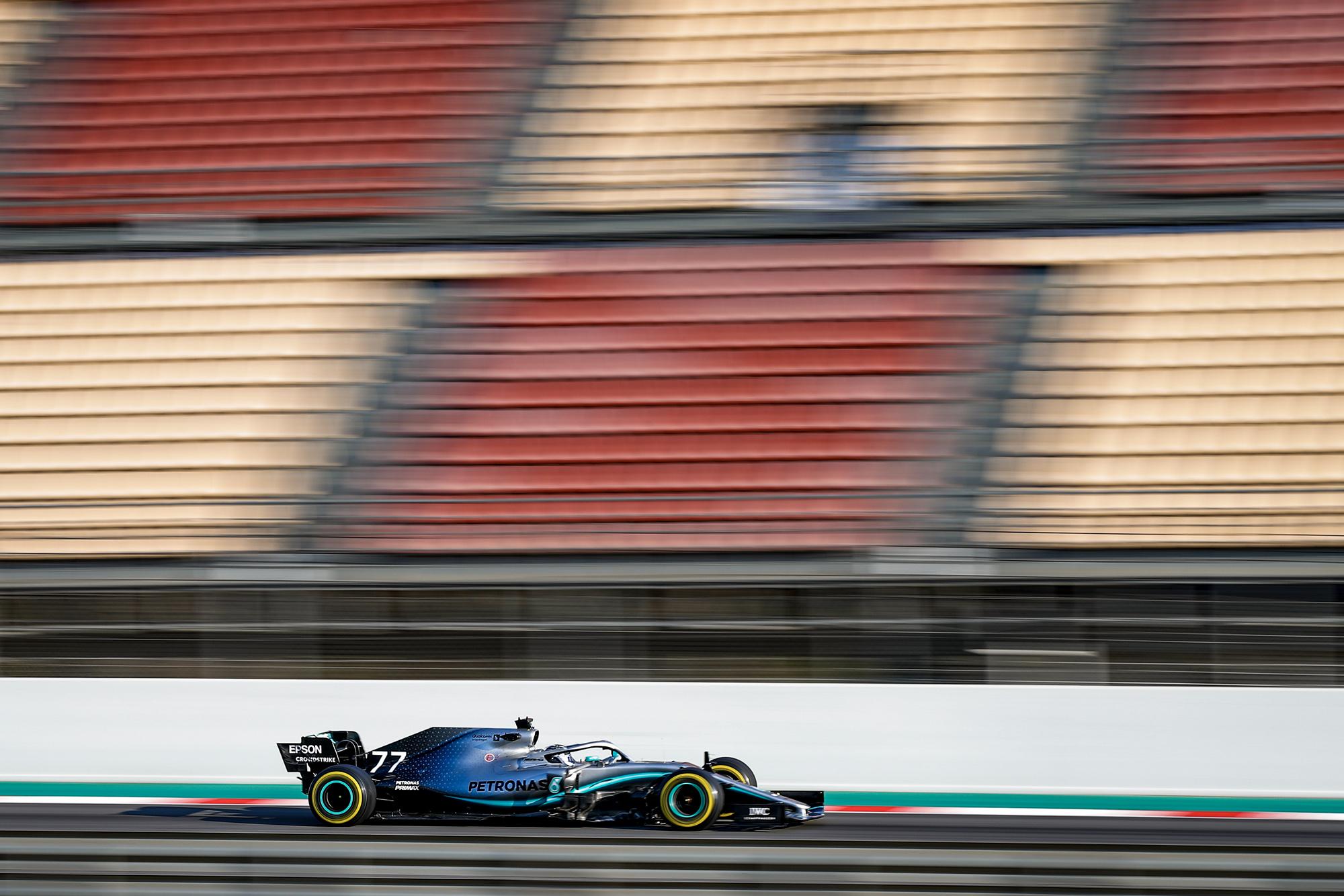 Valtteri Bottas in 2019 F1 preseason testing