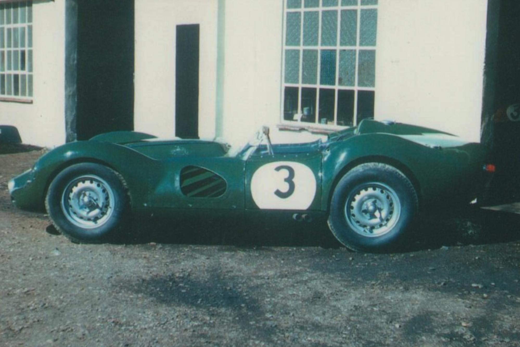 Lister Jaguar Knobbly