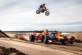 Video: Max Verstappen takes Alex Albon on a Red Bull-style road trip
