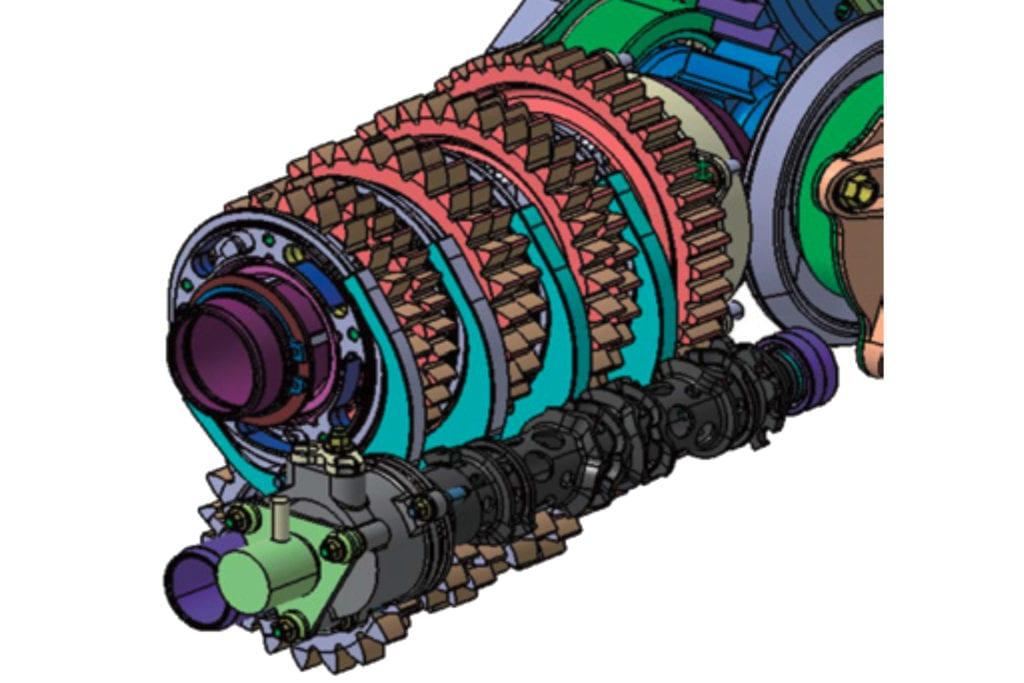 Honda 007 gearbox