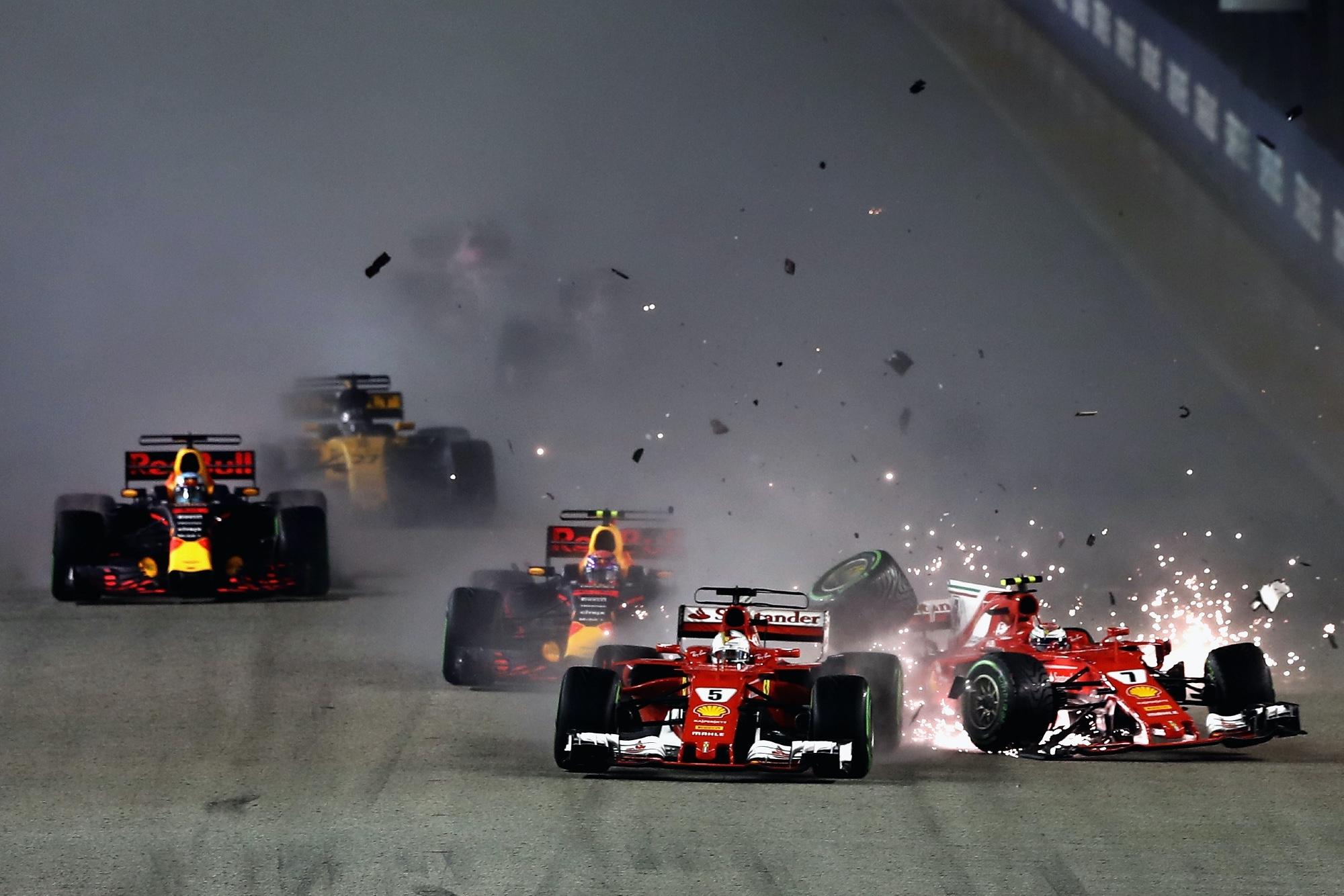 Singapore GP start 2017