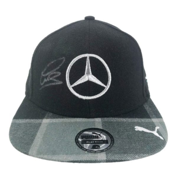Signed Lewis Hamilton Flat Cap – F1 World Champion