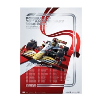 Product image for Formula 1® World Champions: 1950-2019   70th Anniversary   Automobilist   Collector's Edition poster