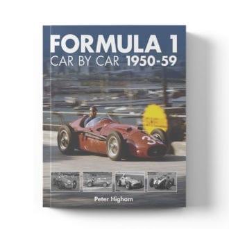 Product image for Formula 1 Car by Car: 1950–59 | Peter Higham | Book | Hardback